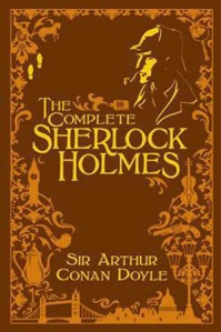 Sherlock Holmes, Sir Arthur Conan Doyle, ACD, book, cover, Leatherbound, Barnes & Noble