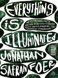 Everything is illuminated, Jonathan Safran Foer, book cover