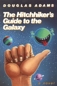 Hitchhiker's Guide to the Galaxy, Douglas Adams, Trilogy of Five, Arthur Dent