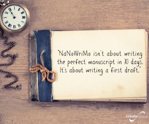 NaNoWriMo, book in 30 days, novel, first draft