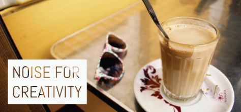 Noise for creativity, coffee shop, coffitivity, ambience, sound, café