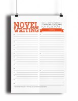 Novel Writing Template, expansion pack, Etsy, NaNoWriMo, Study Read Write, asmallbirdorganizes