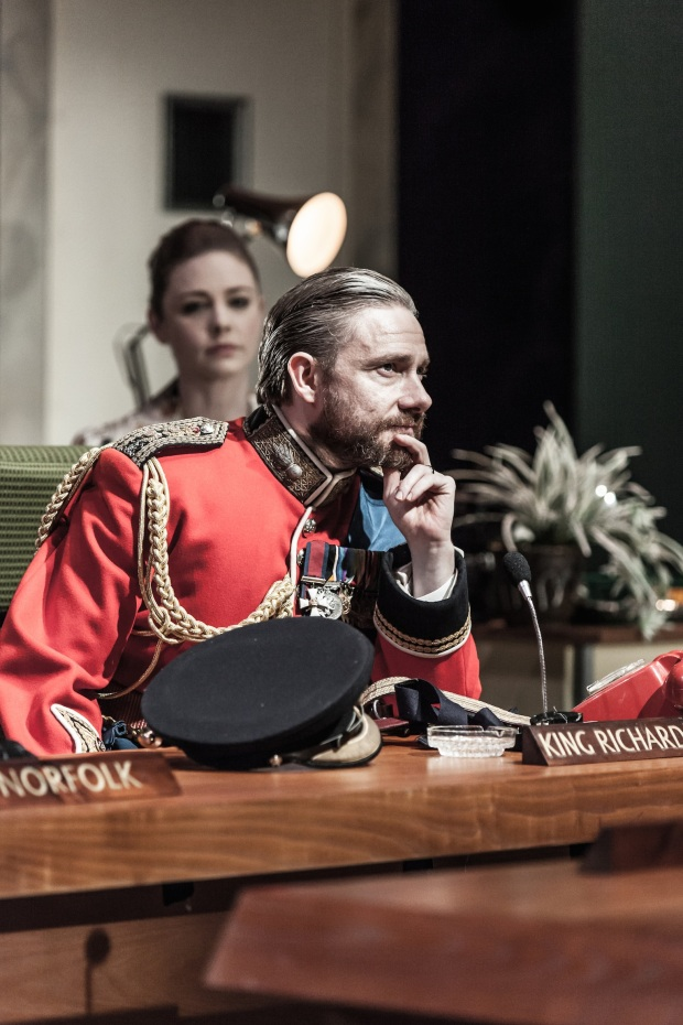 Martin Freeman, Lauren O'Neil, Richard III, Trafalgar Studios, Trafalgar Transformed, London, Season 2, Jamie Lloyd