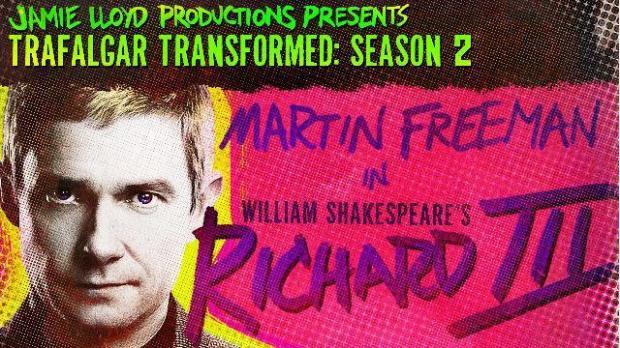 Martin Freeman, Richard III, Trafalgar Studios, London
