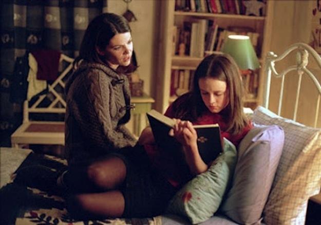 Gilmore Girls, copyright Warner Bros., Rory Gilmore, Lorelai Gilmore, books, reading, challenge, TV,