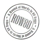 A Round of Words, 80 Days, Writing, challenge, ROW80, author, novel, book