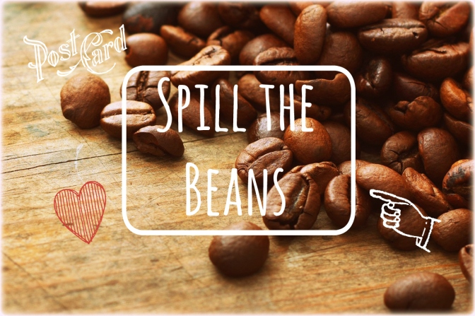 Spill the beans, coffee culture, series