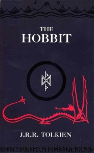 The Hobbit, J.R.R. Tolkien, Middle Earth, book cover, Smaug, Dwarves, erebor, The Shire