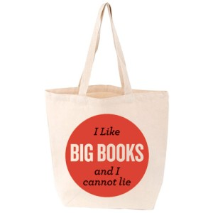 I Like Big Books tote bag. Photo: The British Library