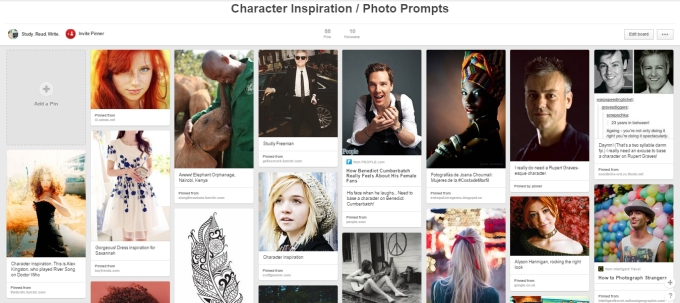 Character Inspiration Board