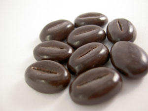 Chocolate covered coffee beans. Photo: Dolci