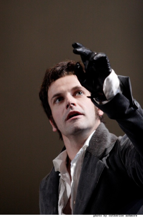 Jonny Lee Miller as Victor Frankenstein at the National Theatre. Photo: Catherine Ashmore