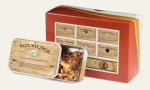 Harry Potter Fandom Tea Blend Samples. Photo: Adagio Teas