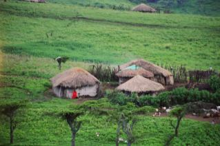 Maasai Settlement in rural Tanzania. Photo: Cornelia Kaufmann