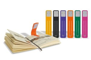 Moleskine Booklights in various colours. Photo: Amazon