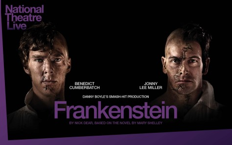 Frankenstein at the National Theatre, starring Benedict Cumberbatch and Jonny Lee Miller. Picture: National Theatre Live