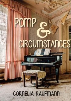 Mock cover for my NaNoWriMo 2014 novel Pomp & Circumstances. Photo by Dan Mabaix.