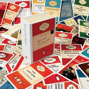 100 Postcards from Penguin. Photo: The British Library
