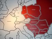 Map showing the former Soviet Union (red). Photo: Cornelia Kaufmann