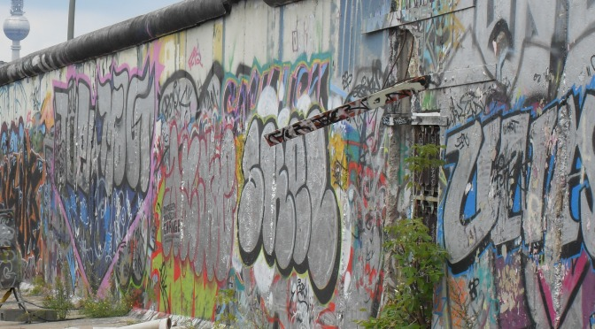 Berlin Wall, Mauerfall, Germany, reunification, east side gallery