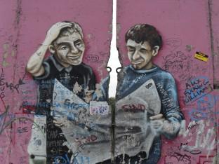 Mural at East Side Gallery, Berlin