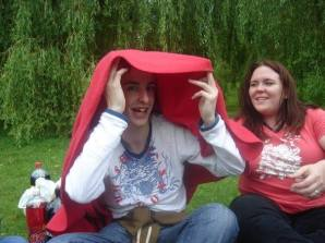 End of Year 1 picnic in Bitts Park, Carlisle, 2008. Photo by Cornelia Kaufmann