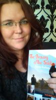 Holding a proper copy of my book for the first time! Photo by Cornelia Kaufmann