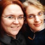 Conny & Ronni in Paris. Photo by Cornelia Kaufmann