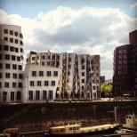Düsseldorf's Media Harbour. Photo by Cornelia Kaufmann