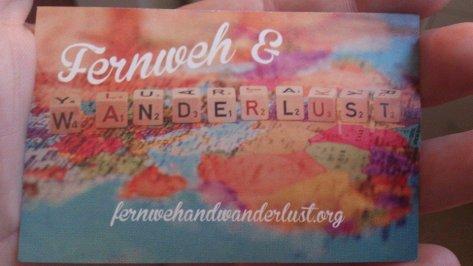 Fernweh& Wanderlust at fernwehandwanderlust.org