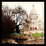 Basilique du Sacre Coeur in Montmartre. Photo by Cornelia Kaufmann