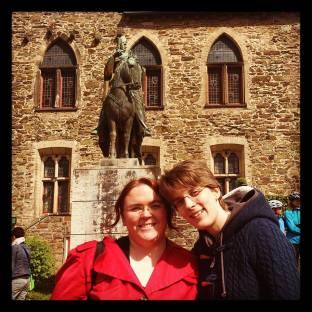 Conny & Ronni at Schloss Burg, Solingen. Photo by Cornelia Kaufmann