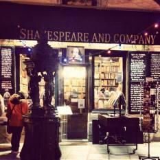 Shakespeare & Co. book store. Photo by Cornelia Kaufmann