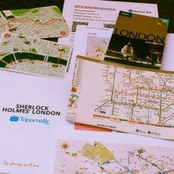 Planning a trip to London. Photo by Cornelia Kaufmann