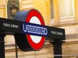 Charing Cross Underground Entrance. Photo by Cornelia Kaufmann