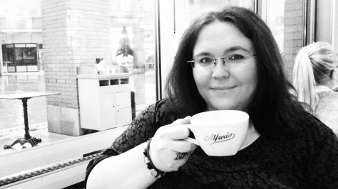 Having a cuppa at Alex in Solingen, Germany. Photo: Cornelia Kaufmann