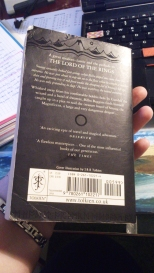 Hobbit back cover