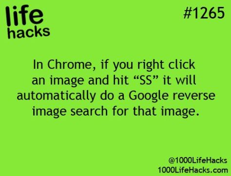 Life Hacks Chrome