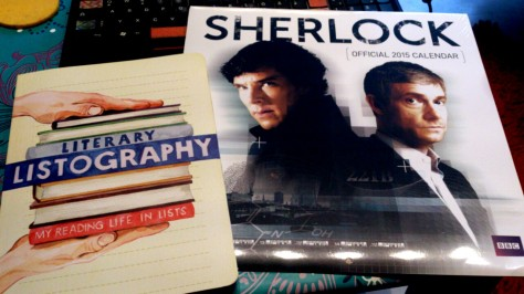 Literary Listography and the Official Sherlock Calendar 2015