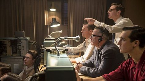 Still from The Eichmann Show, BBC Two