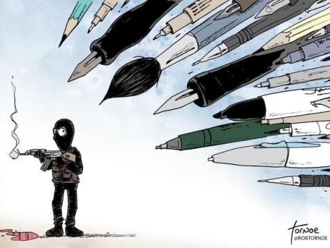 Cartoon by Rob Tornoe, shared on Twitter