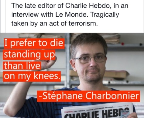 Stephane Charbonnier quote