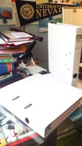 white binder
