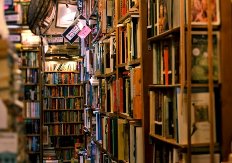 Abbey Books in Paris. Photo by Aubrey Allison