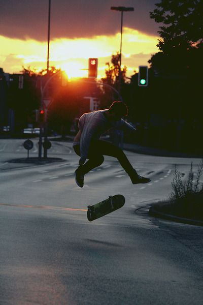 Skater Boy. Photographer unknown