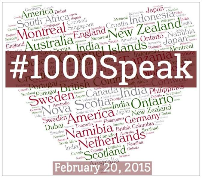 #1000Speak for Compassion is Live!