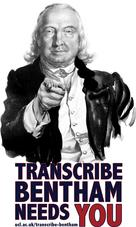 JB wants you by Transcribe Bentham
