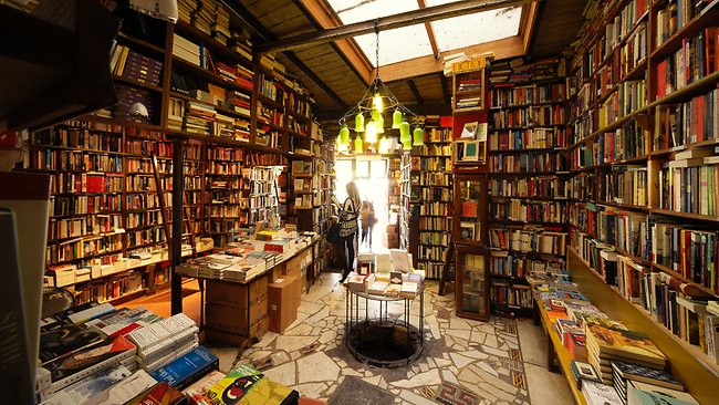 The bookstore of my dreams
