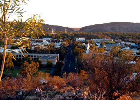 Alice Springs CBD. Photo by Stuart Edwards
