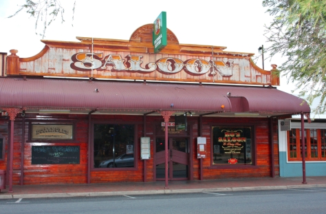 Legendary saloon Bojangles in Alice Springs